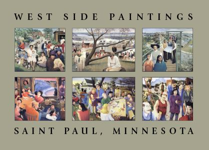 West Side Paintings by Craig David and Richard Schletty